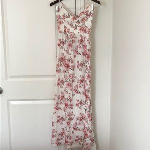 Forever 21 Floral Maxi Dress.